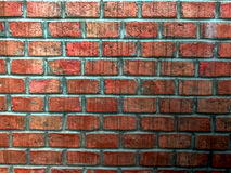 Vintage brick wall, background backdrop texture detail texture layer pattern. Use for construction, presentation, design purpose Royalty Free Stock Image