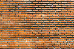 Vintage brick wall. Background of old vintage brick wall Royalty Free Stock Photography