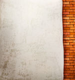 Vintage brick wall background. Royalty Free Stock Photos