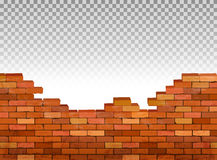 Vintage brick wall background. Royalty Free Stock Photography