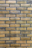 Vintage brick wall. The brown color brick wall texture background Royalty Free Stock Photos