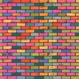 Vintage brick wallpape Stock Photo