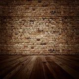 Vintage brickwall room Royalty Free Stock Photos