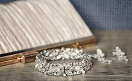 Vintage Bridal accessories Royalty Free Stock Photography