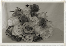 Vintage brides bouquet Stock Image