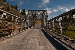 Vintage bridge Royalty Free Stock Photography