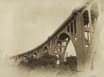 Vintage Bridge Photograph Royalty Free Stock Photography