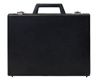Vintage briefcase Stock Image