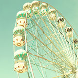 Vintage Bright Ferris Wheel Stock Photos