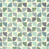 Vintage bright geometric seamless pattern Royalty Free Stock Photos