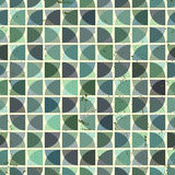 Vintage bright geometric seamless pattern, vector Royalty Free Stock Image