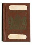 Brith-Palestine Vintage Passport Stock Photo