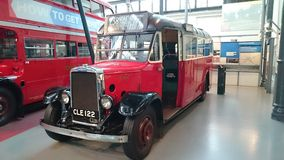 Vintage british bus Stock Photography