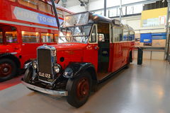 Vintage british bus Royalty Free Stock Photos
