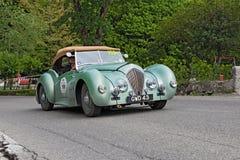 Vintage british car Healey Westland roadster royalty free stock photography