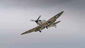 Vintage British Spitfire fighter aircraft Stock Photos