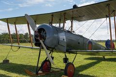 Vintage British training aircraft Avro 504K. 1918 Stock Image