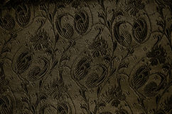 Vintage brocade fabric detail Royalty Free Stock Image