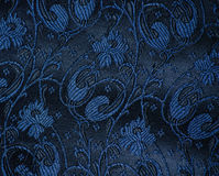 Vintage brocade fabric detail Royalty Free Stock Photos