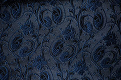 Vintage brocade fabric detail Stock Photos