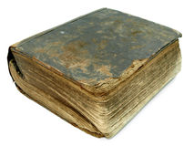 Vintage broken old book Royalty Free Stock Photos