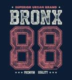 Vintage bronx typography, t-shirt graphics Royalty Free Stock Image