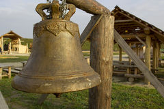 Vintage bronze bell Royalty Free Stock Photos