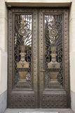 Vintage bronze door Royalty Free Stock Images