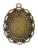 Vintage bronze pendant Stock Photo