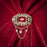 Vintage brooch Royalty Free Stock Photo