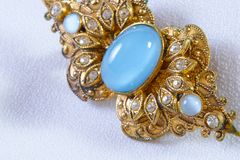 Vintage brooch Royalty Free Stock Images
