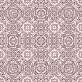 Vintage brown and beige pattern Royalty Free Stock Photo