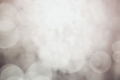 Vintage Brown Bokeh Abstract Background Royalty Free Stock Photo