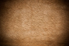 Vintage brown painted plaster concrete wall Royalty Free Stock Photography