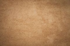 Vintage brown paper with wrinkles, abstract old paper textures fo. R background royalty free stock photography