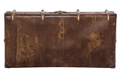 Vintage brown suitcase Royalty Free Stock Image