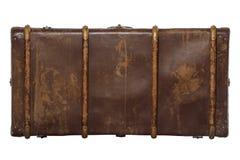 Vintage brown suitcase Royalty Free Stock Photo