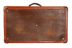 Vintage brown suitcase Stock Photography