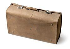 Vintage brown suitcase Stock Photo