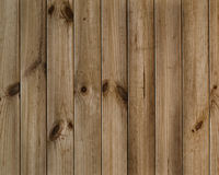 Vintage brown wooden planks Stock Images