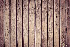 Vintage brown wooden wall plank background. Vintage old fashioned brown wooden wall plank background stock images