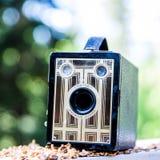 Vintage Brownie Junior photo camera Stock Photo