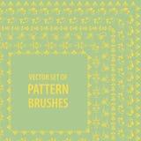 Vintage brushes. Vector set of vintage brushes Royalty Free Stock Photo