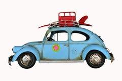 Vintage bug car toy Royalty Free Stock Photos