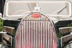 Vintage 1938 Bugatti Type 57 Coach Ventoux Royalty Free Stock Images