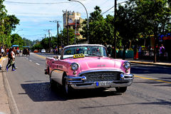 Vintage Buick in Varadero Royalty Free Stock Photo