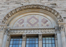 Vintage building architectural detail in Toronto Stock Photography