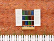 Vintage building wall background Royalty Free Stock Images