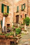 Vintage buildings in Italy Royalty Free Stock Photography