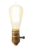 Vintage bulb lamp Royalty Free Stock Photos